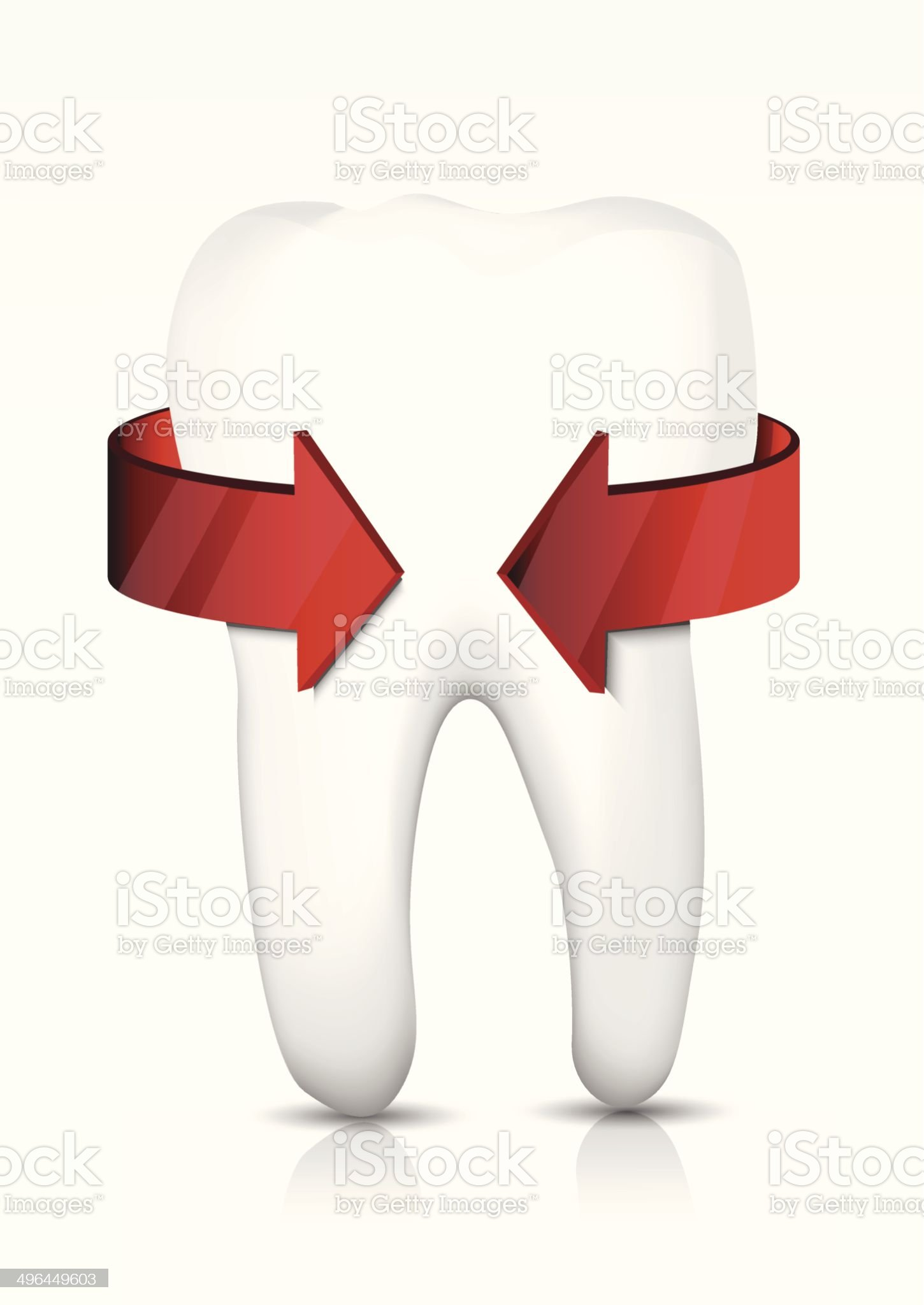 Vector tooth protection royalty-free stock vector art
