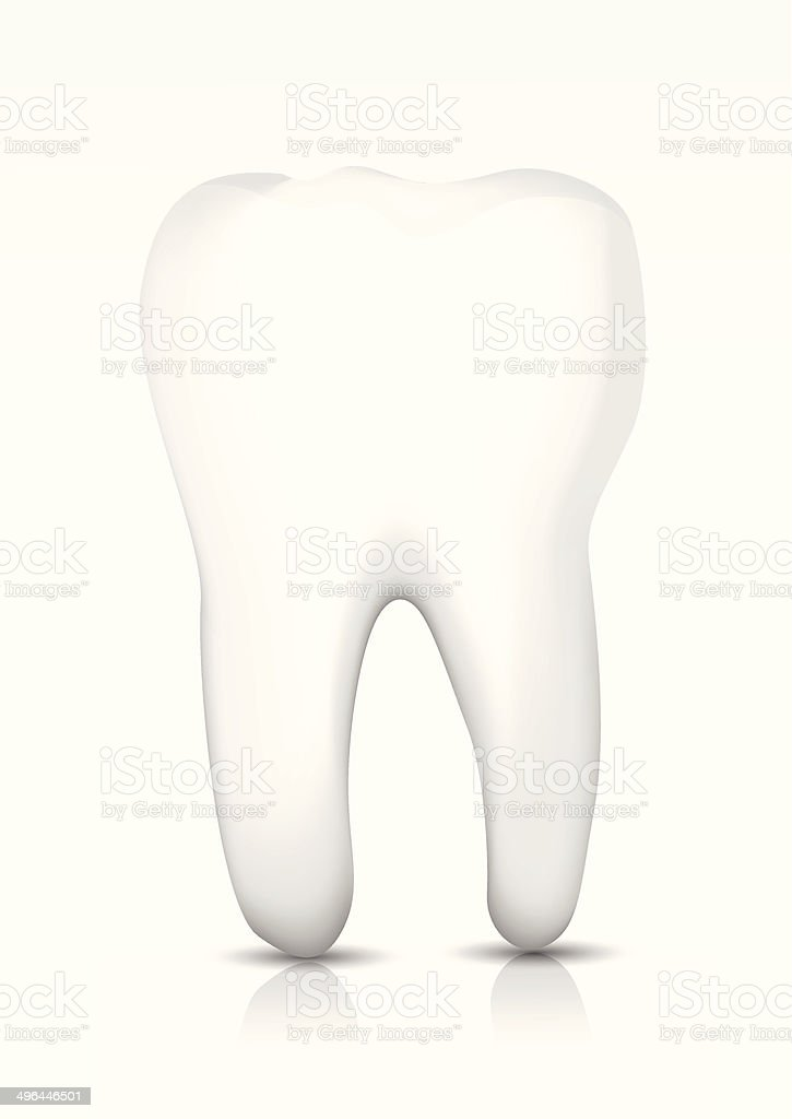 Vector tooth royalty-free stock vector art