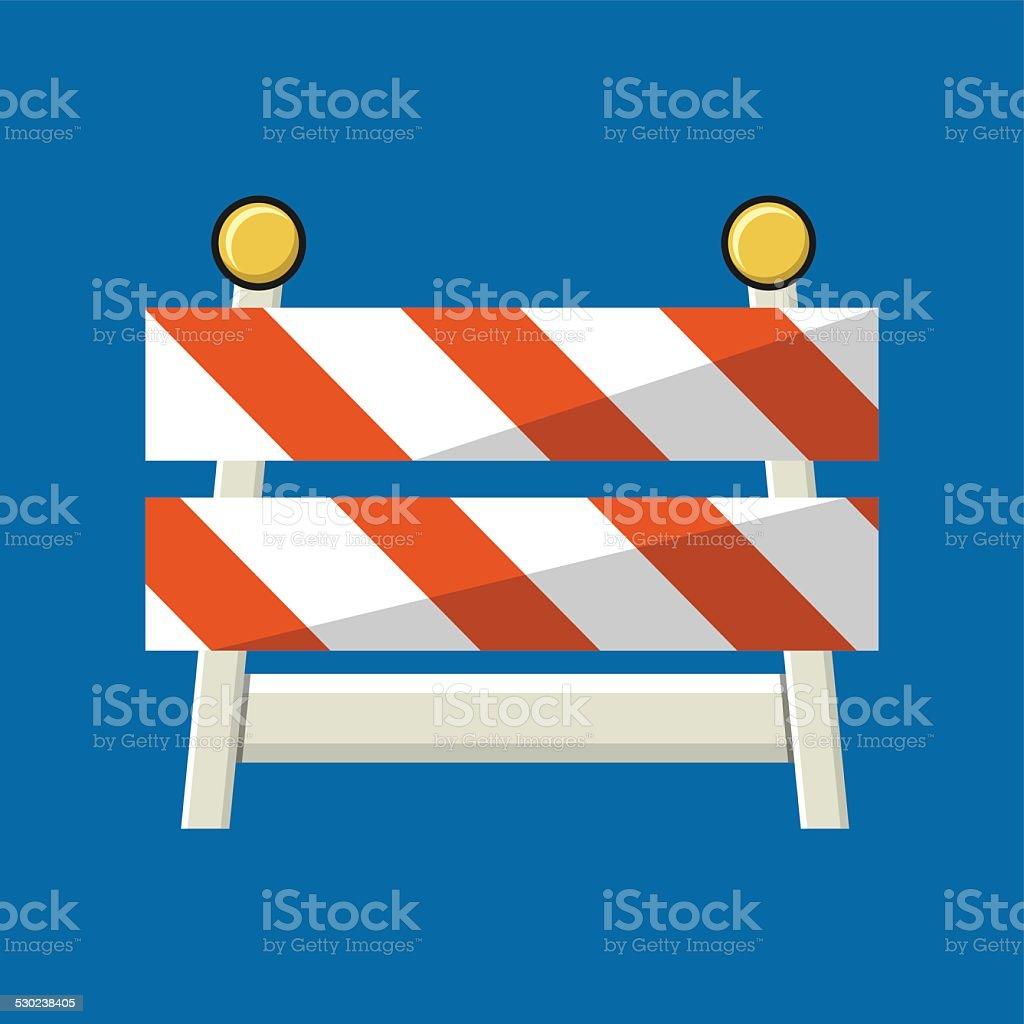 Vector Traffic Sign Icon. vector art illustration