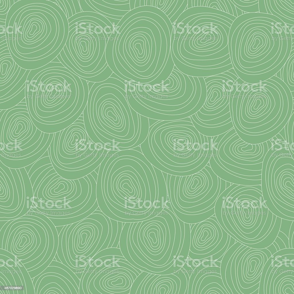 Vector tree rings seamless background vector art illustration