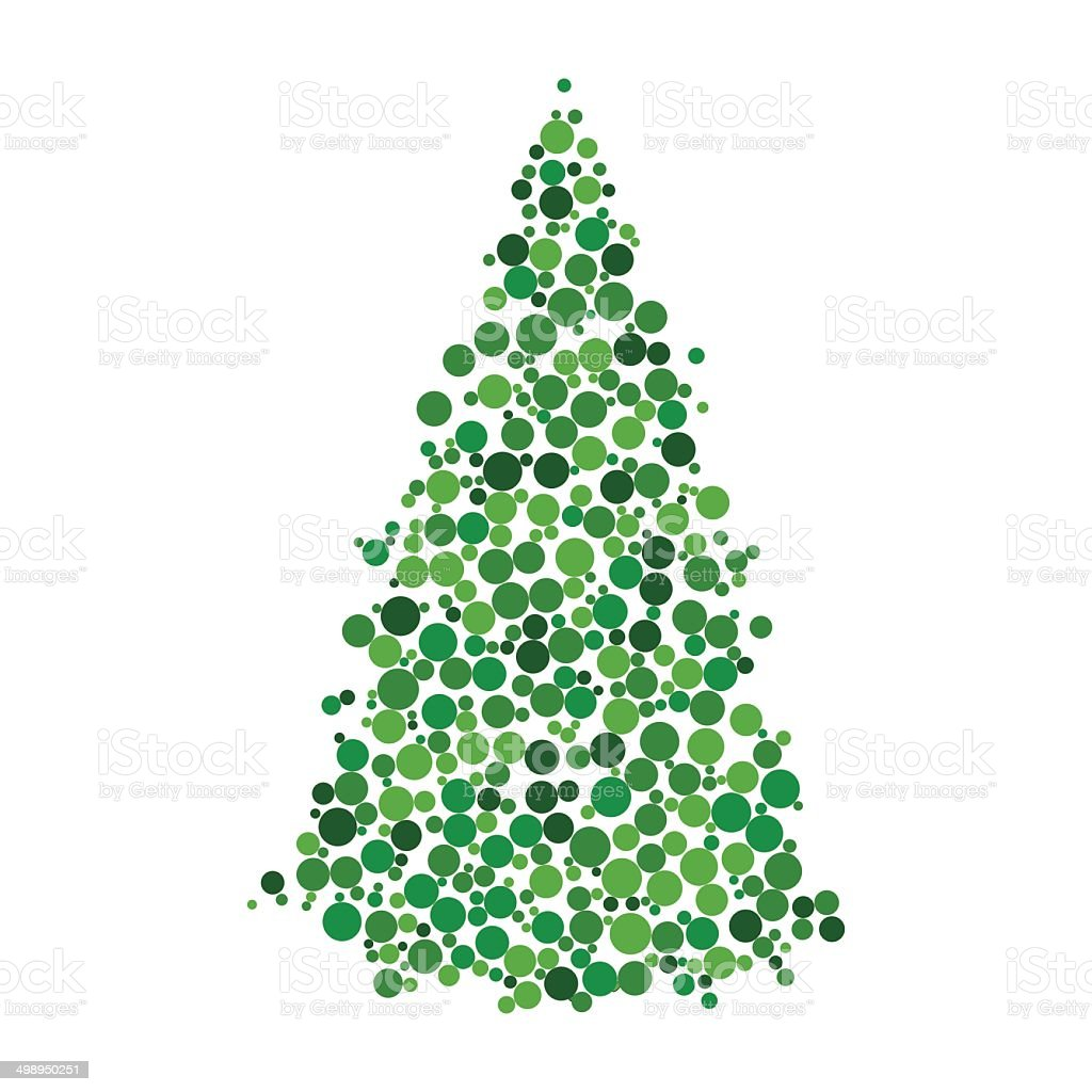 Vector tree royalty-free stock vector art