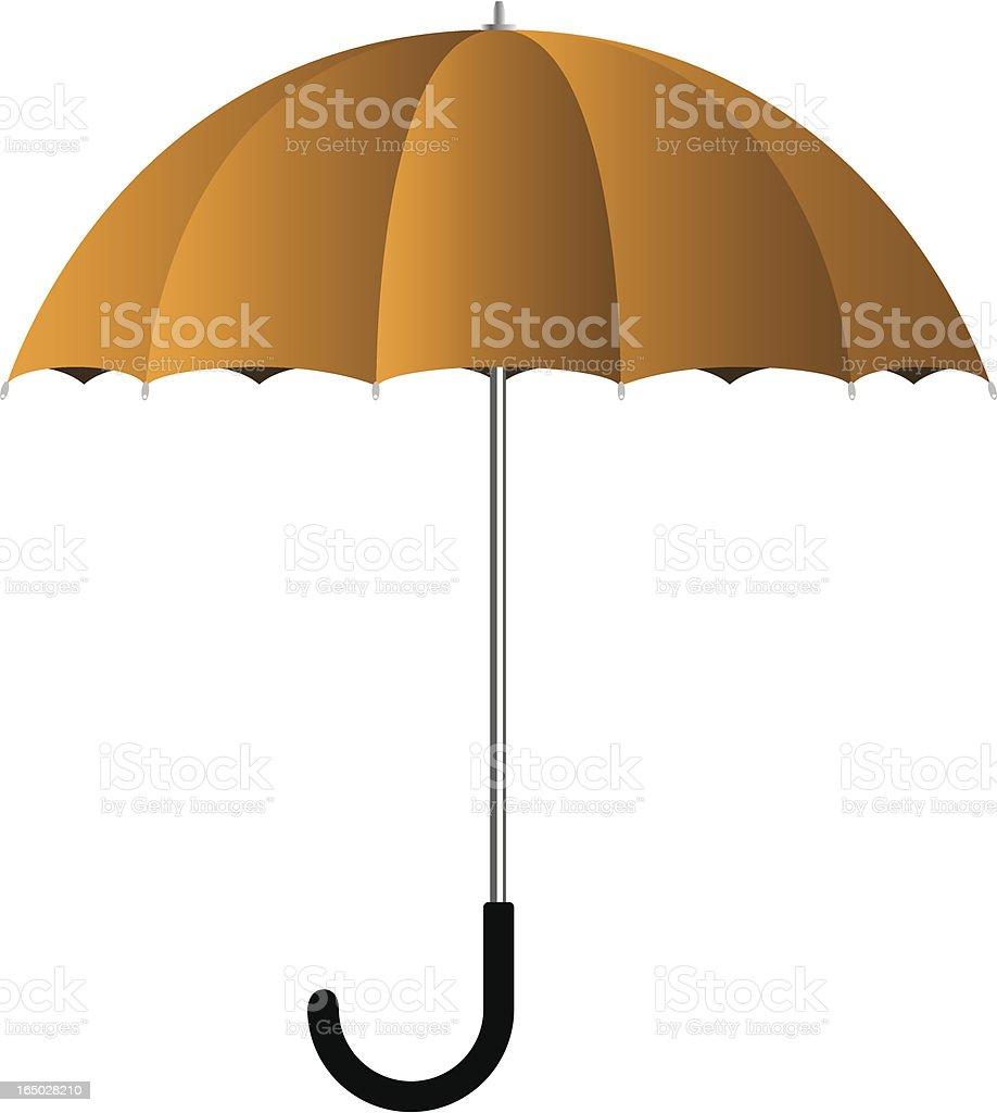 Vector Umbrella vector art illustration