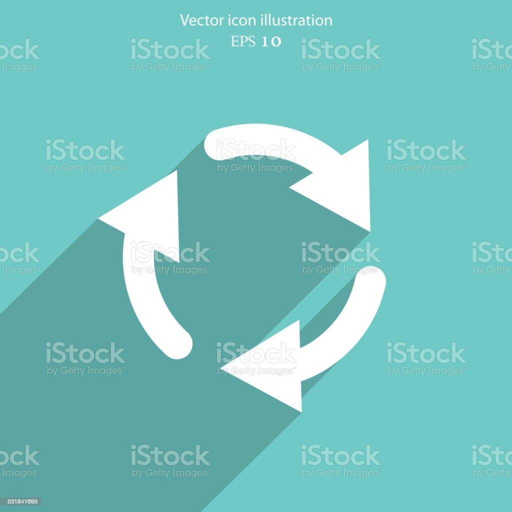 Vector utilize web icon. vector art illustration