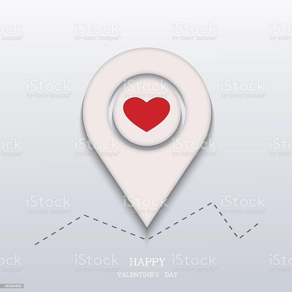 Vector valentines day background. Eps10 vector art illustration