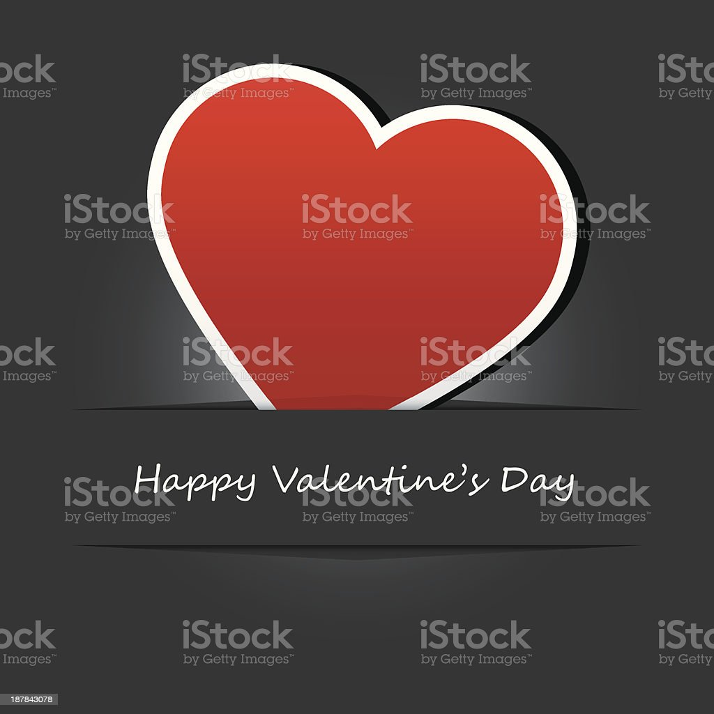 vector valentines day card royalty-free stock vector art