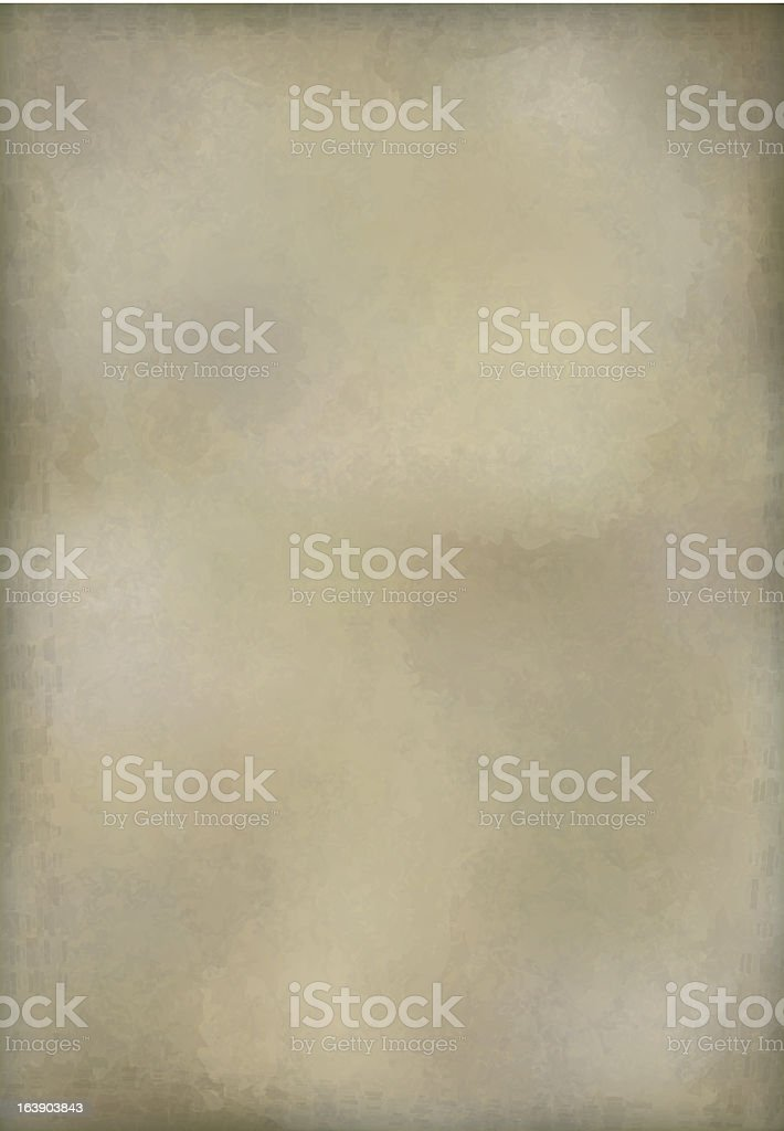 Vector vintage old paper texture background design royalty-free stock vector art