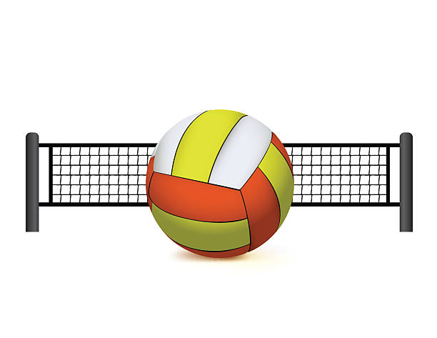 Volleyball Net Clip Art, Vector Images & Illustrations ...
