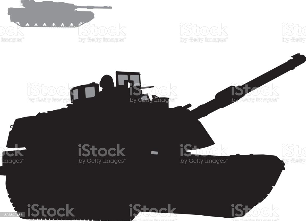 Vector warfare vector art illustration