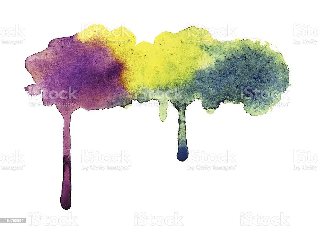 Vector Watercolor Background royalty-free stock vector art