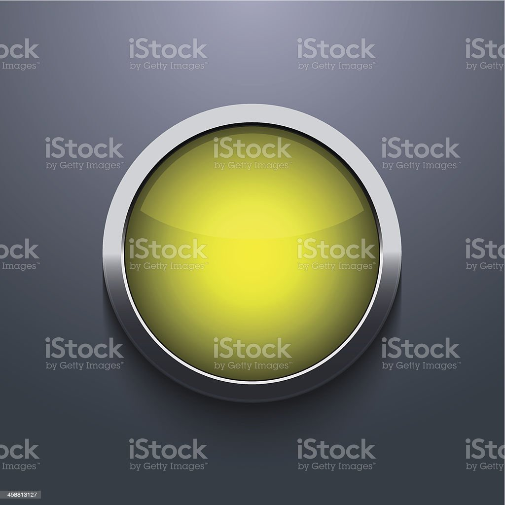 Vector web button design on gray background royalty-free stock vector art