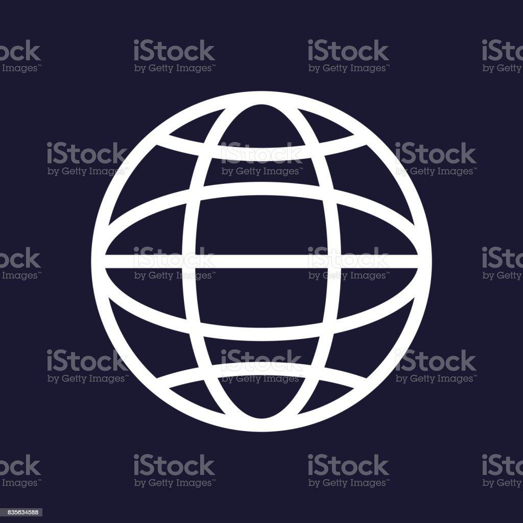 Vector web icon vector art illustration