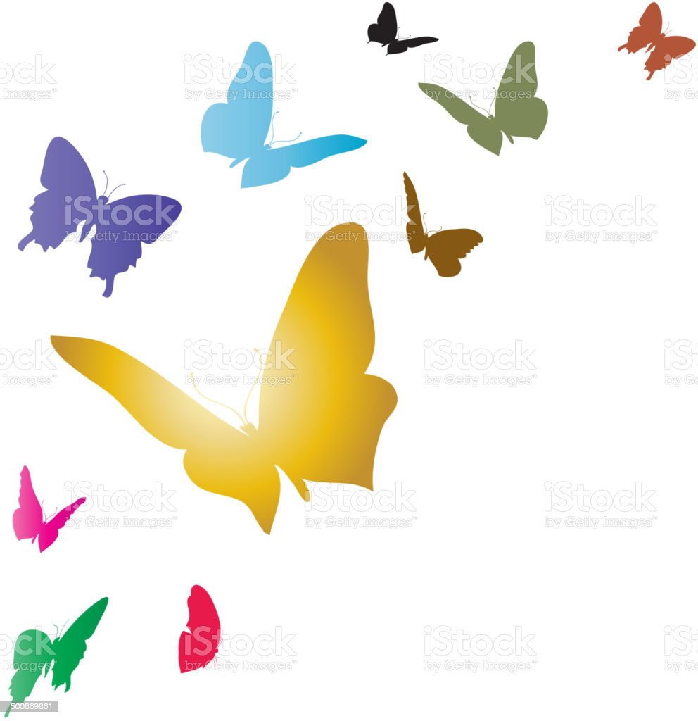 Vector white background. vector art illustration