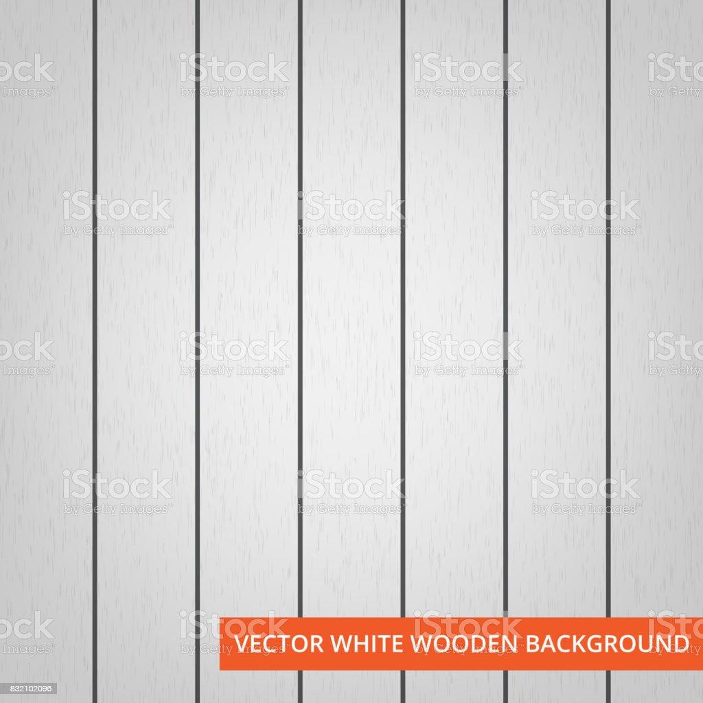 텍스처와 배경으로 하얀 나무 판자 벡터 일러스트 832102096  iStock