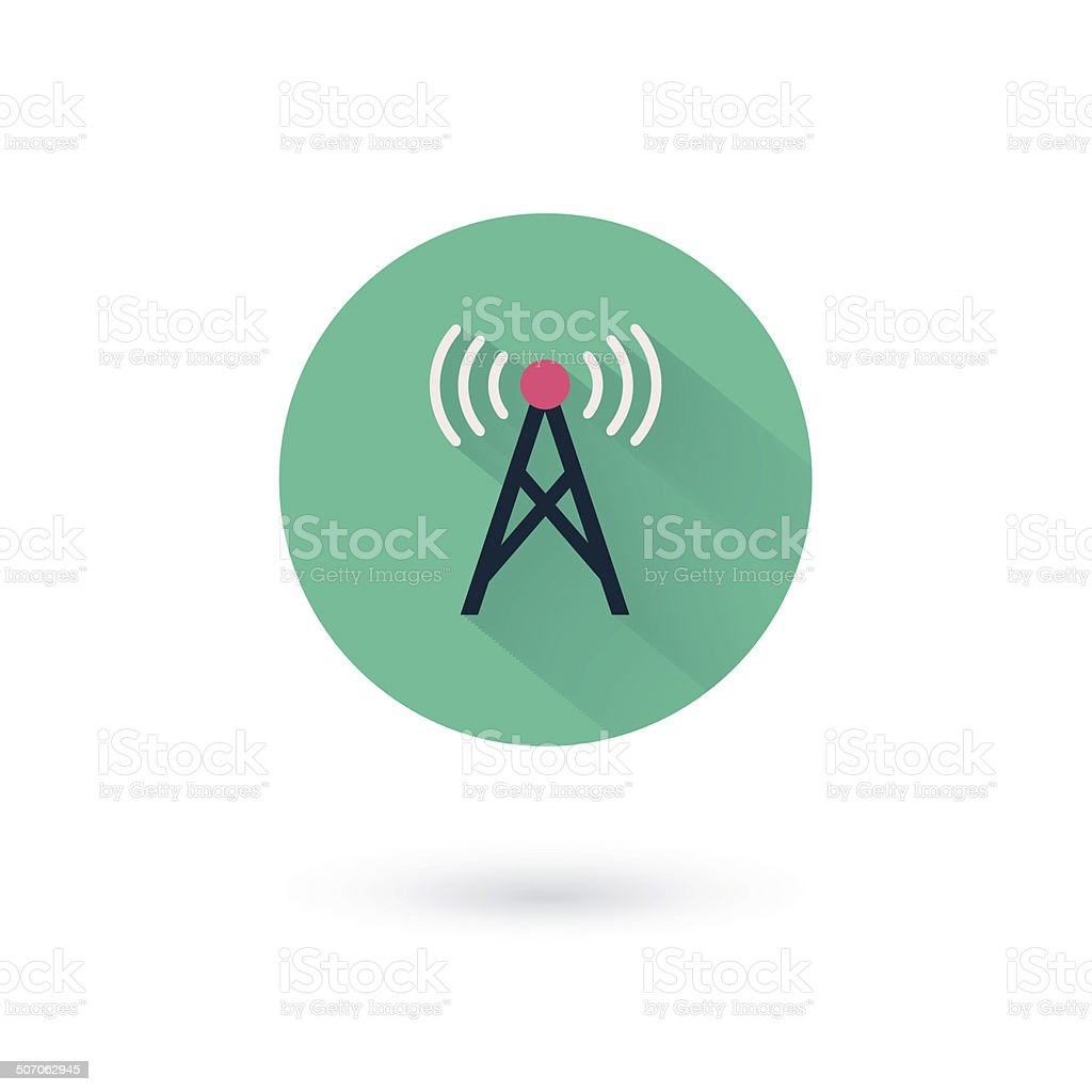 Vector wifi icons vector art illustration