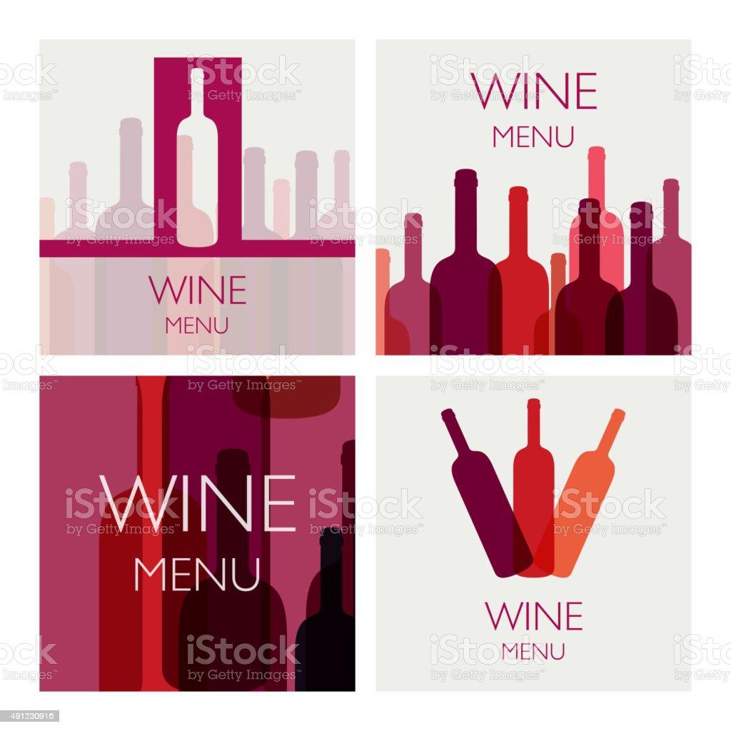Vector Wine Design Templates vector art illustration
