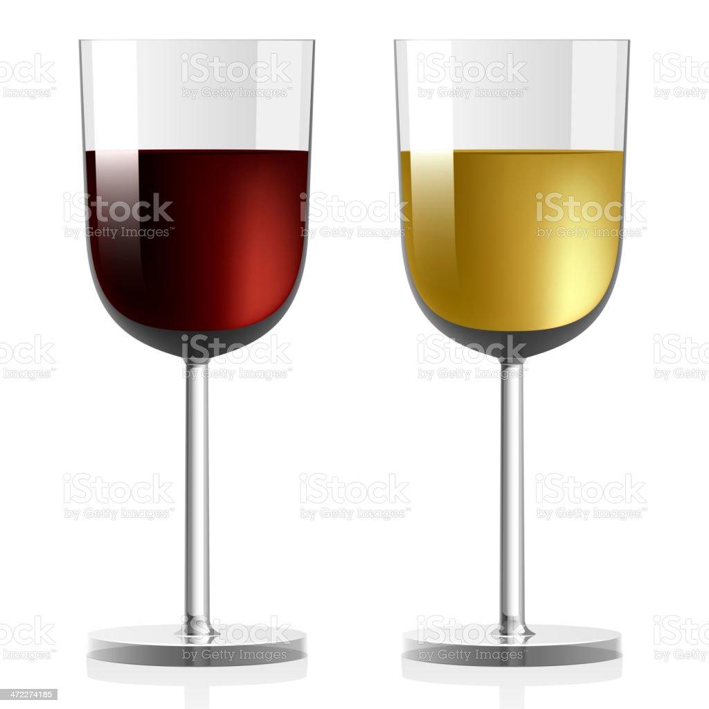 Vector wineglass royalty-free stock vector art