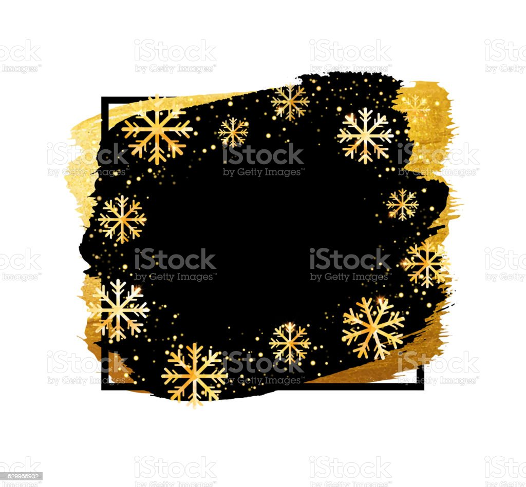 Vector winter banner. Abstract background with place for your text. vector art illustration