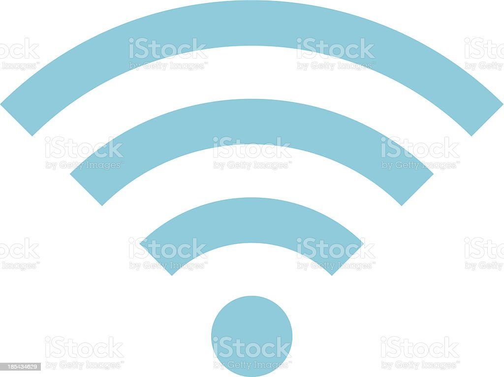 Vector Wireless Network Icon vector art illustration