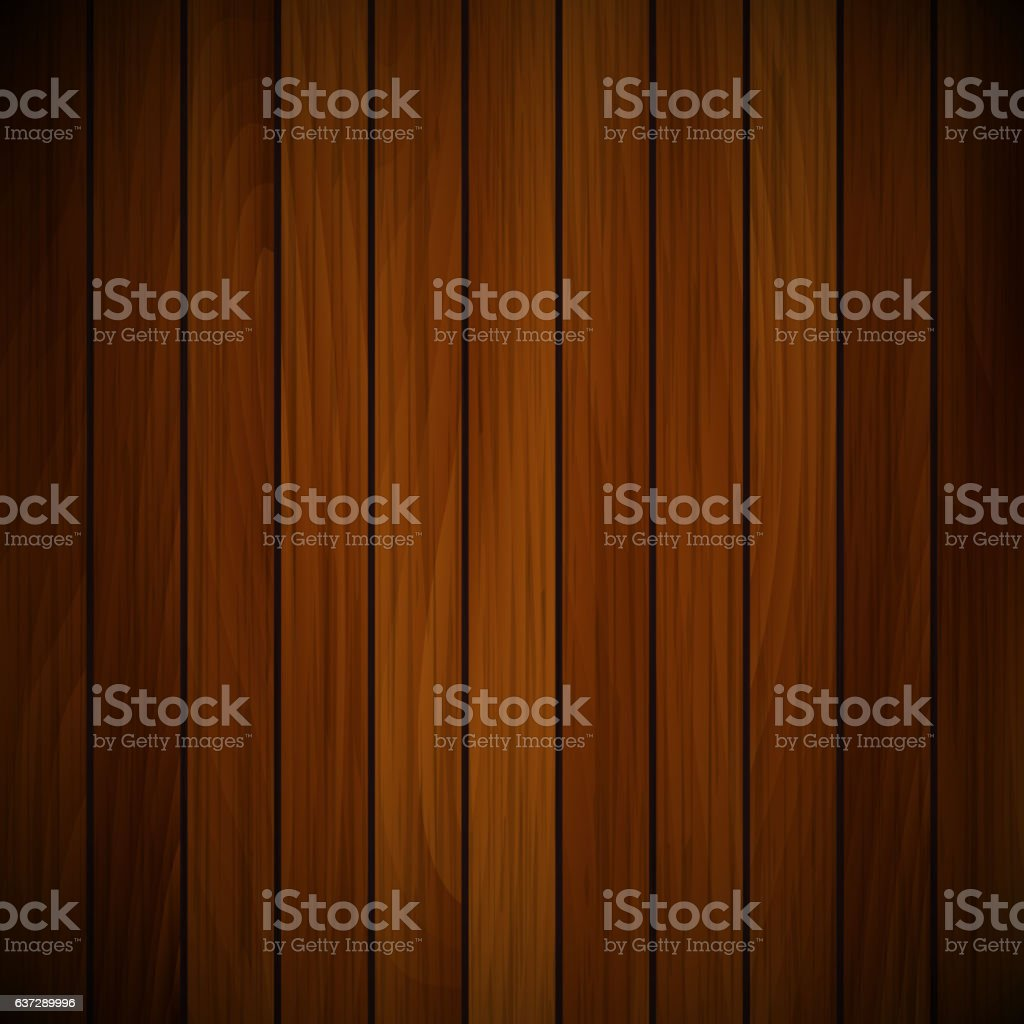 Vector wood plank vector art illustration