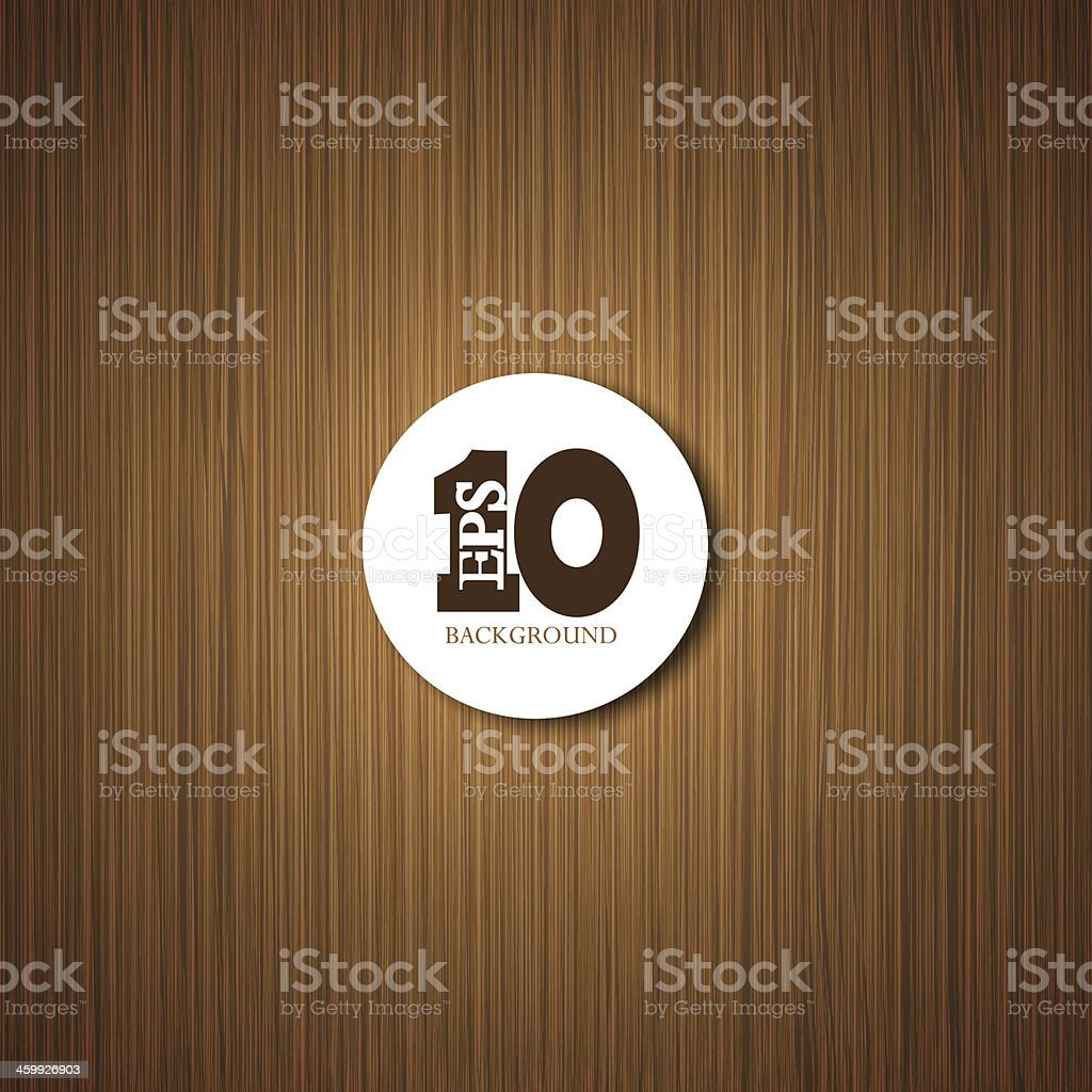 Vector wooden background with place for your text. Eps 10 vector art illustration