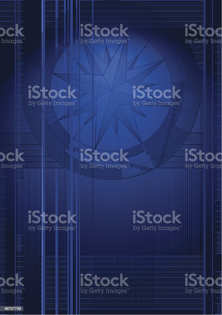 vectordraft windrose royalty-free stock vector art