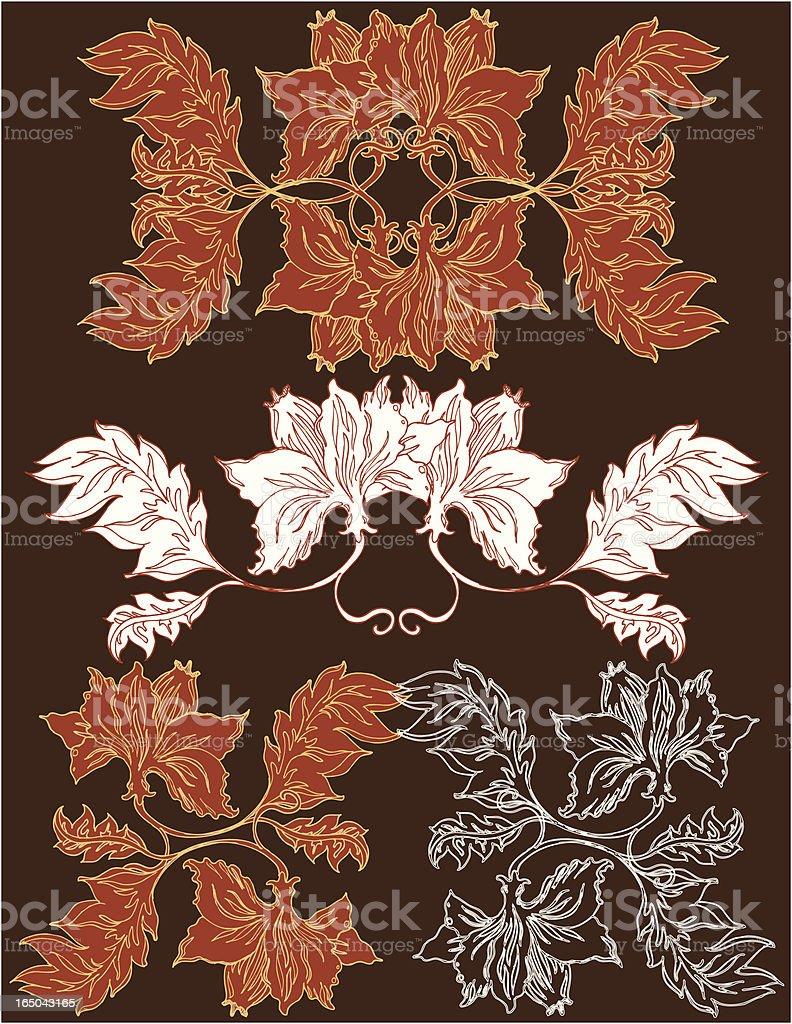 vectorian decor vector art illustration