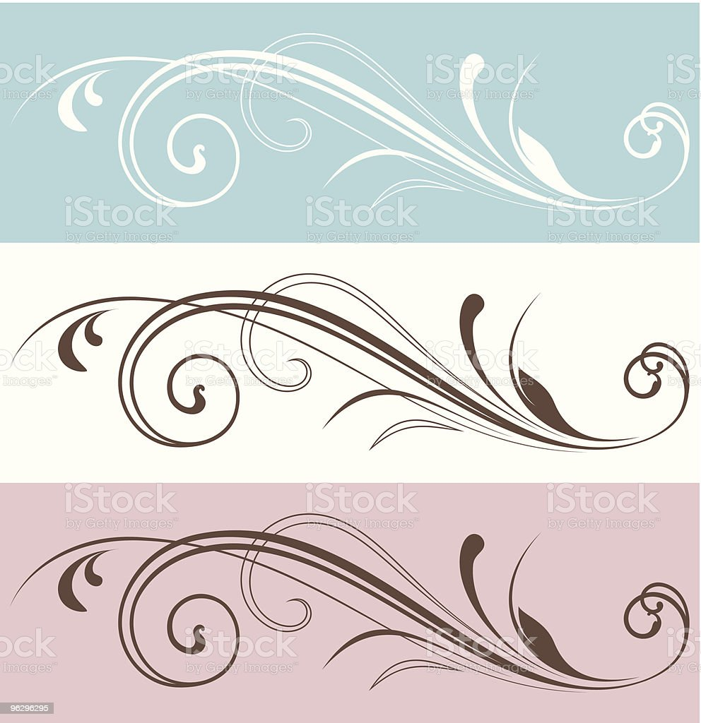 vectorized_scroll_design royalty-free stock vector art