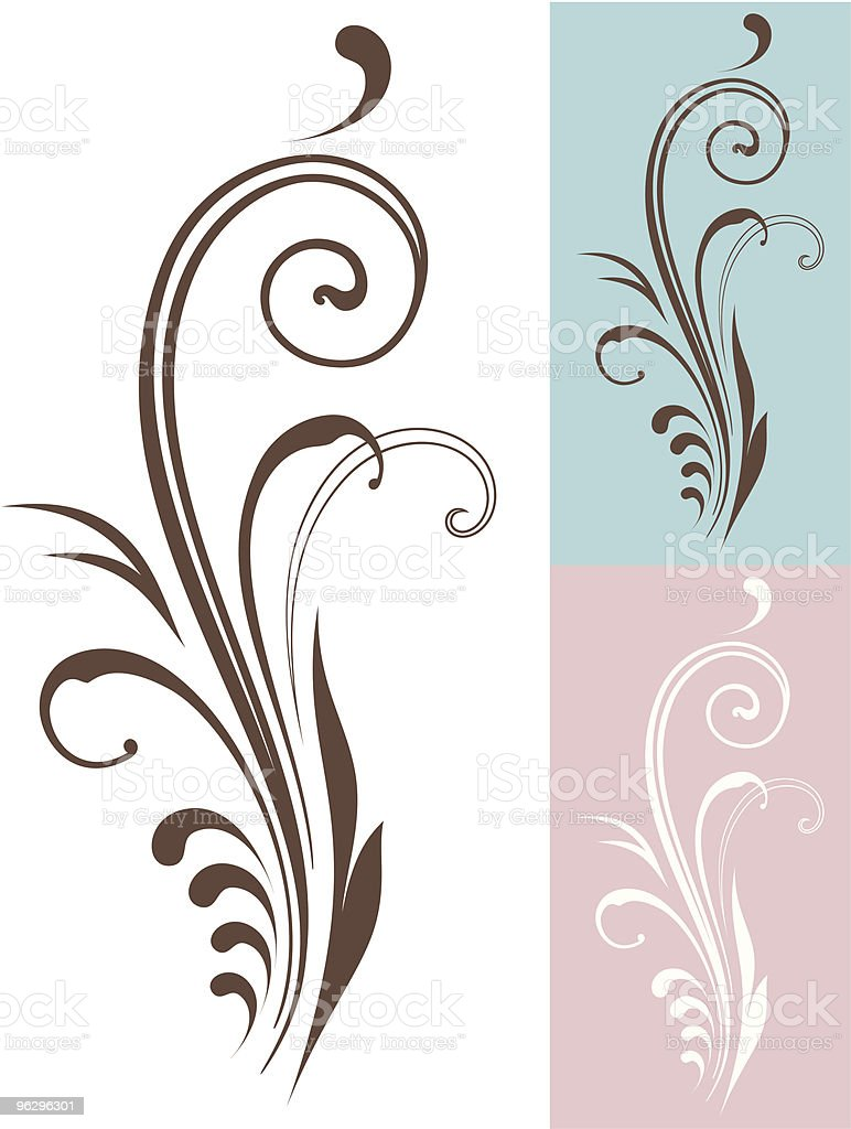 vectorized-scroll royalty-free stock vector art