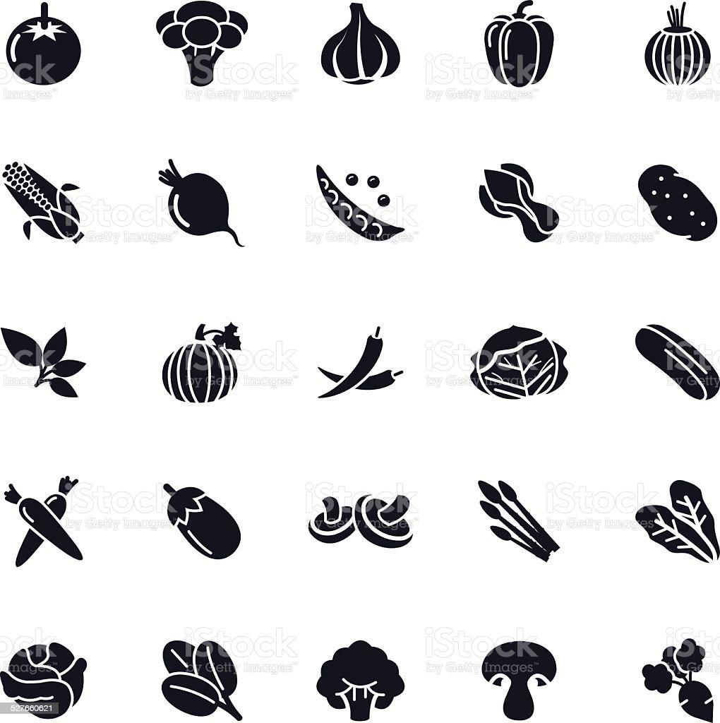 Vegetable Icon vector art illustration
