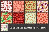 Vegetables backgrounds.