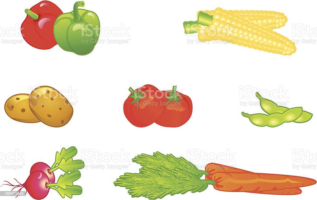 Vegetables. royalty-free stock vector art