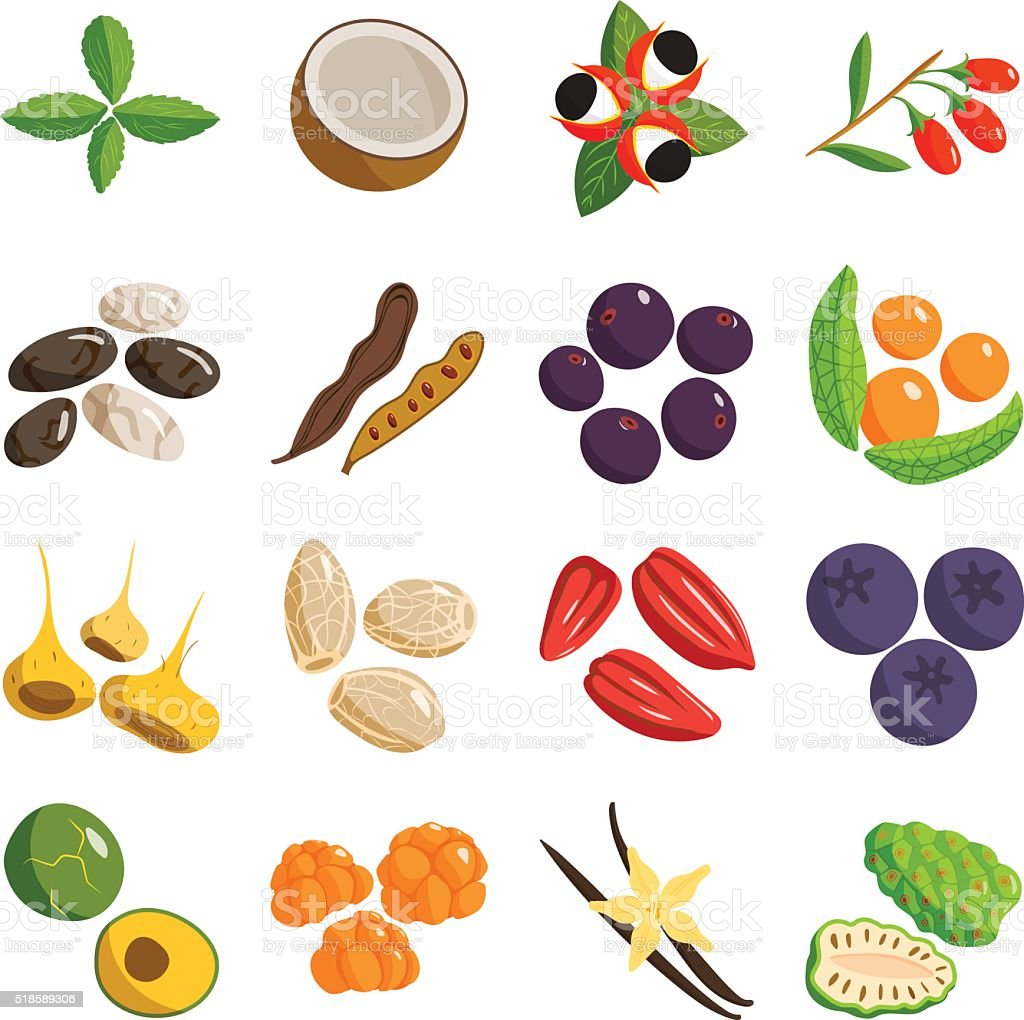 Vegetarian food healthy vegetable and fruits restaurant dishes. cartoon vector vector art illustration