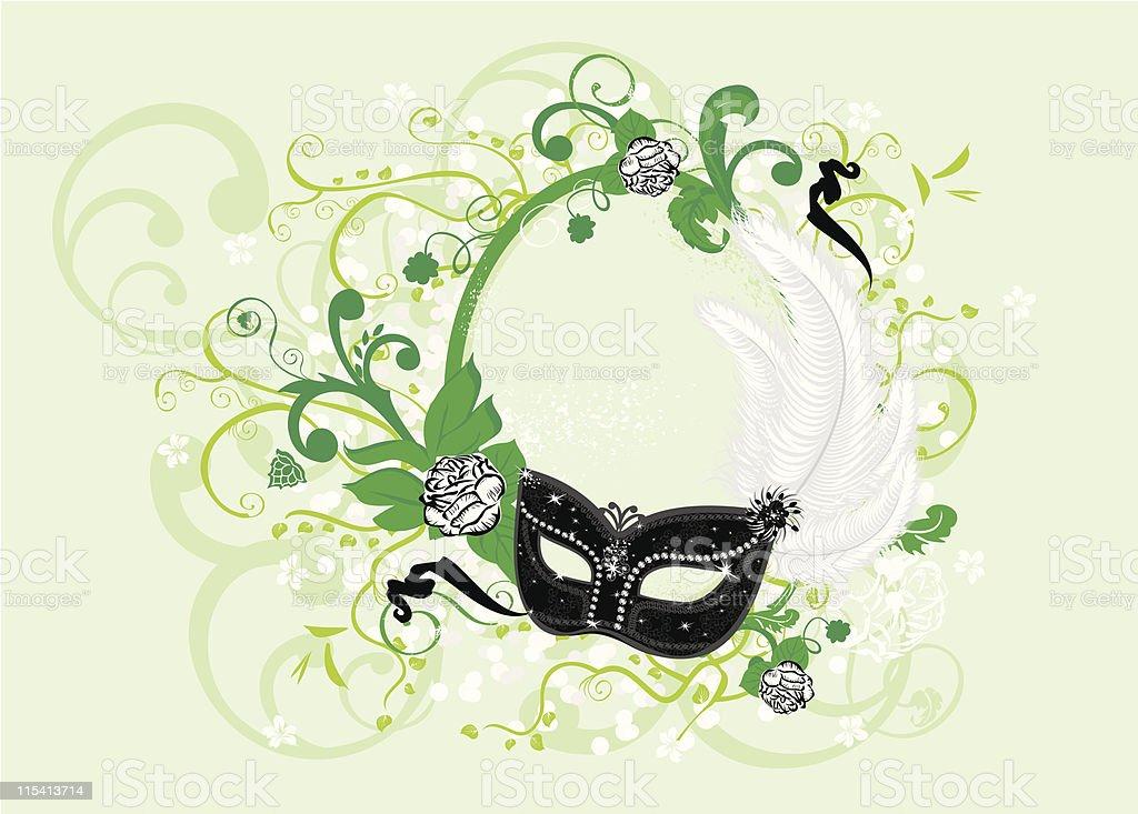 venetian mask royalty-free stock vector art