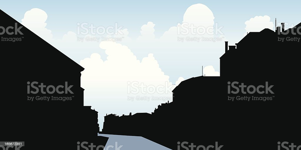 Venice Canal royalty-free stock vector art