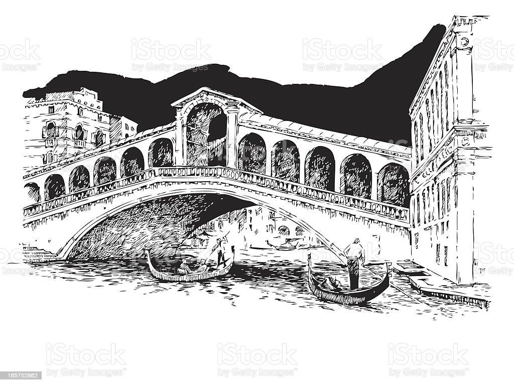 Venice, Italy royalty-free stock vector art