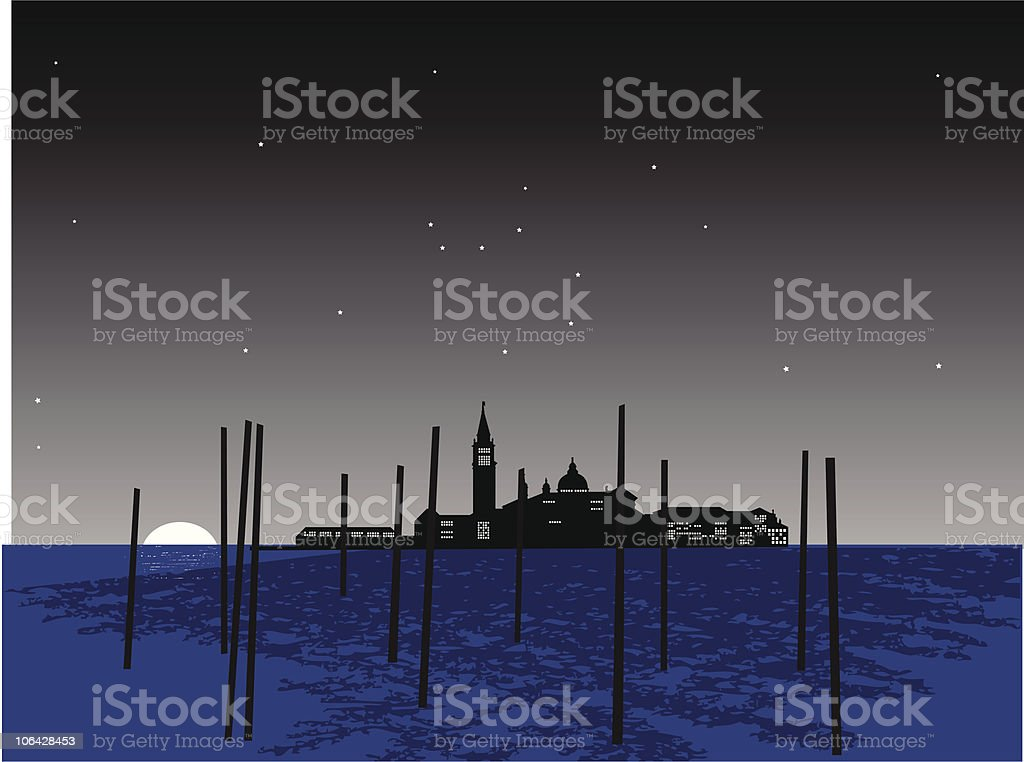 Venice royalty-free stock vector art