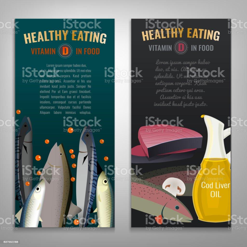 Vertical banners set vector art illustration