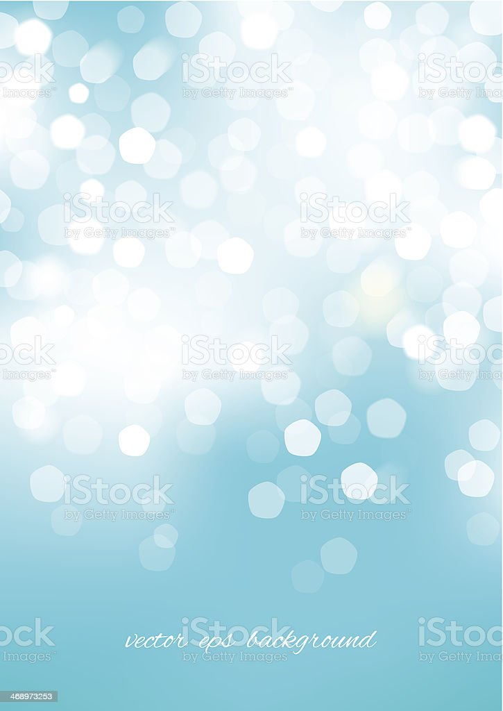 Vertical blue blurred background with graphic elements. vector art illustration