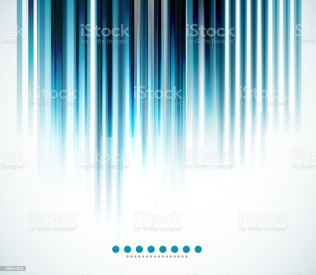 Vertical blue lines background royalty-free stock vector art