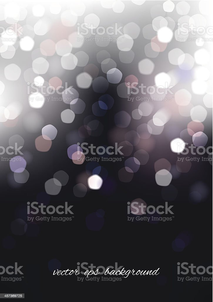 Vertical blurred background with graphic elements. vector art illustration