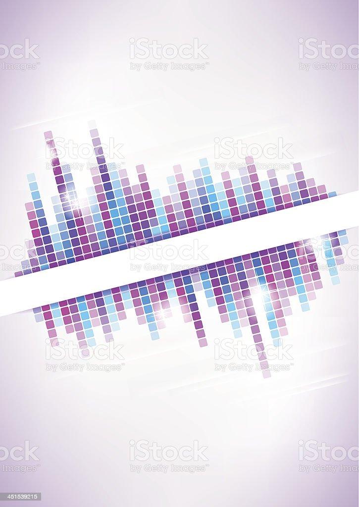 Vertical light mosaic background. royalty-free stock vector art