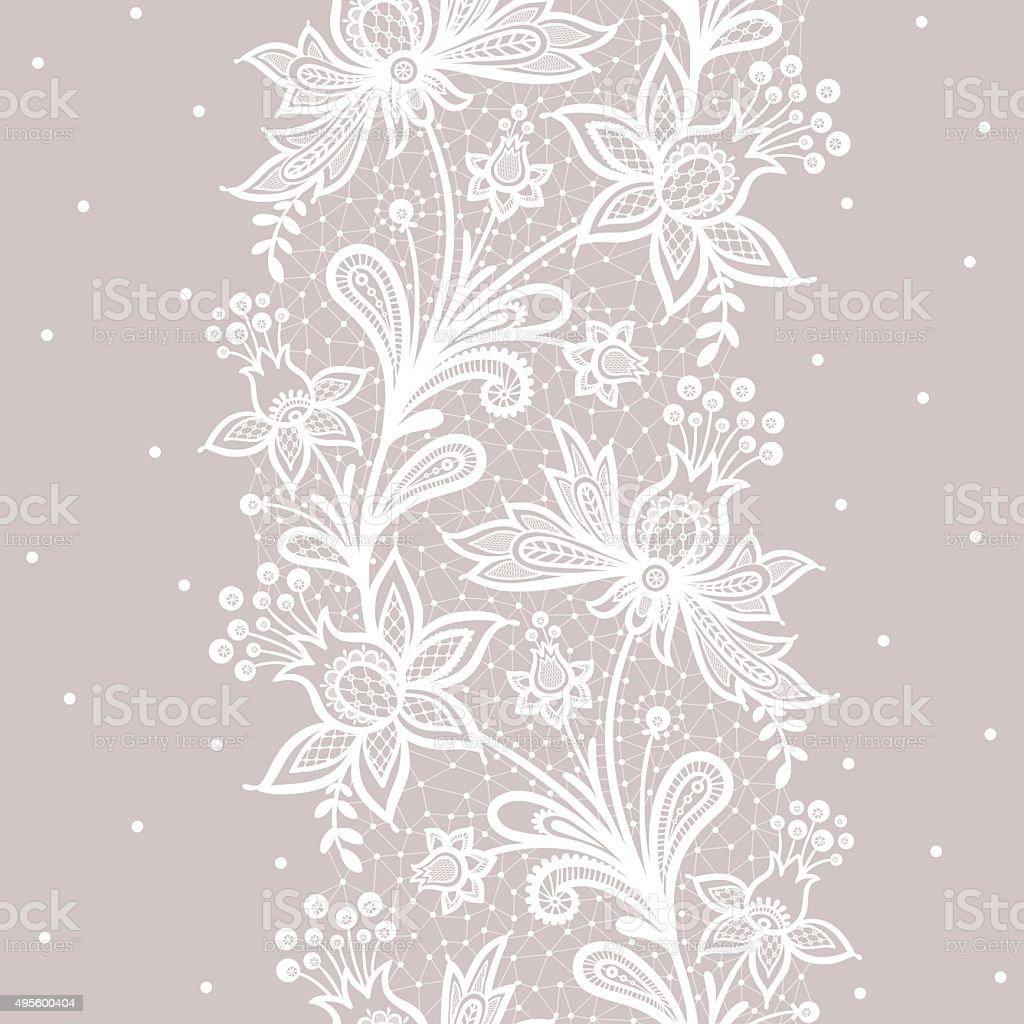 Vertical seamless pattern. vector art illustration