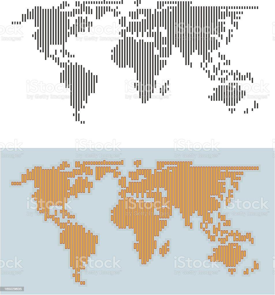 vertical world royalty-free stock vector art