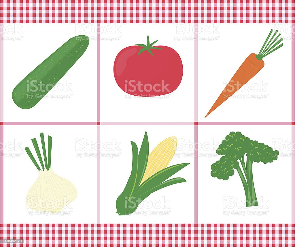 Very Veggie royalty-free stock vector art