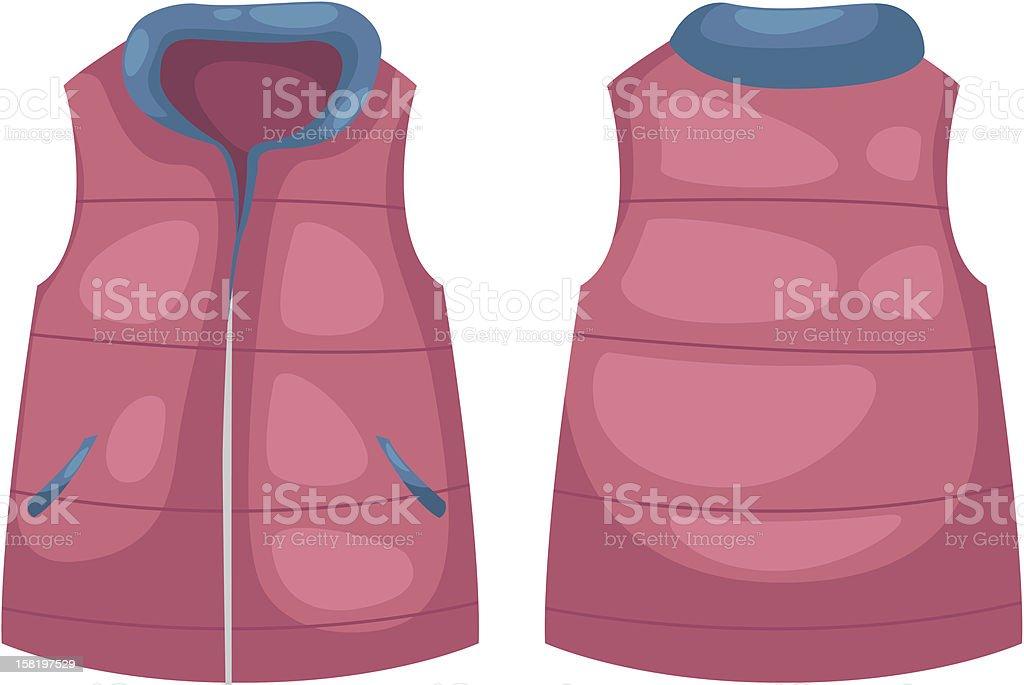 vest vector royalty-free stock vector art