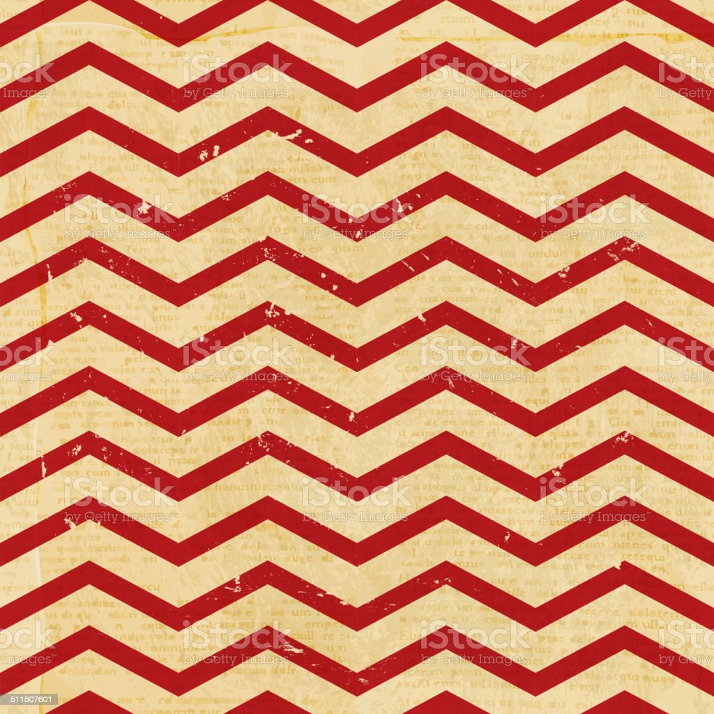 Christmas chevron repeat seamless pattern background vector art illustration