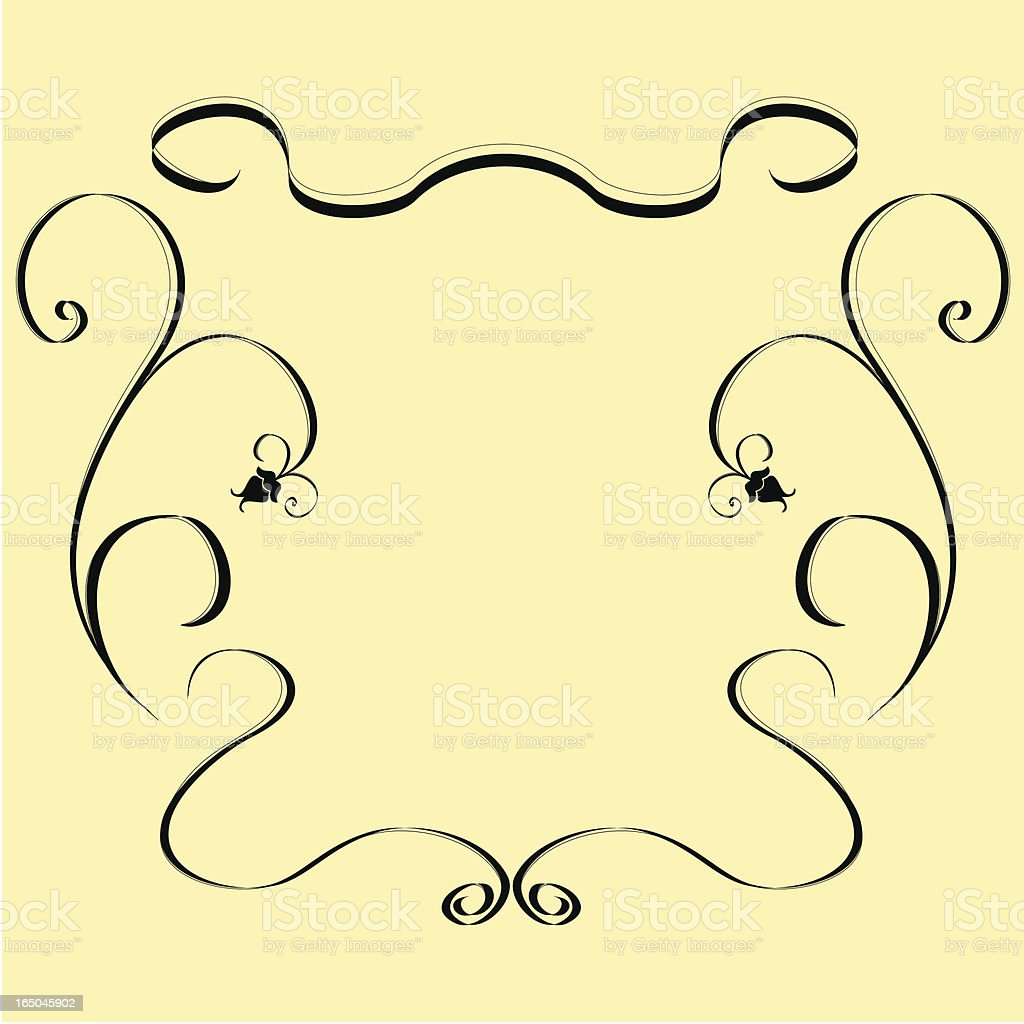 Victorian Style Ornaments royalty-free stock vector art
