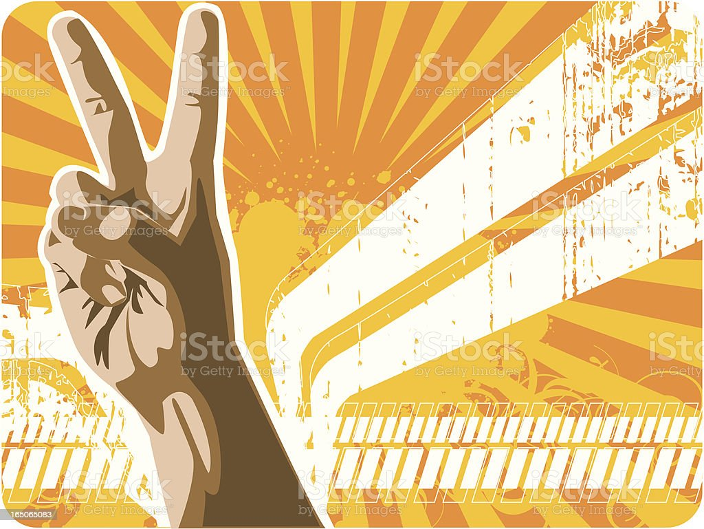 Victory design royalty-free stock vector art