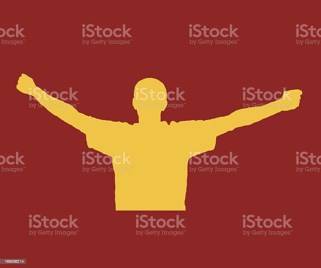 Victory royalty-free stock vector art