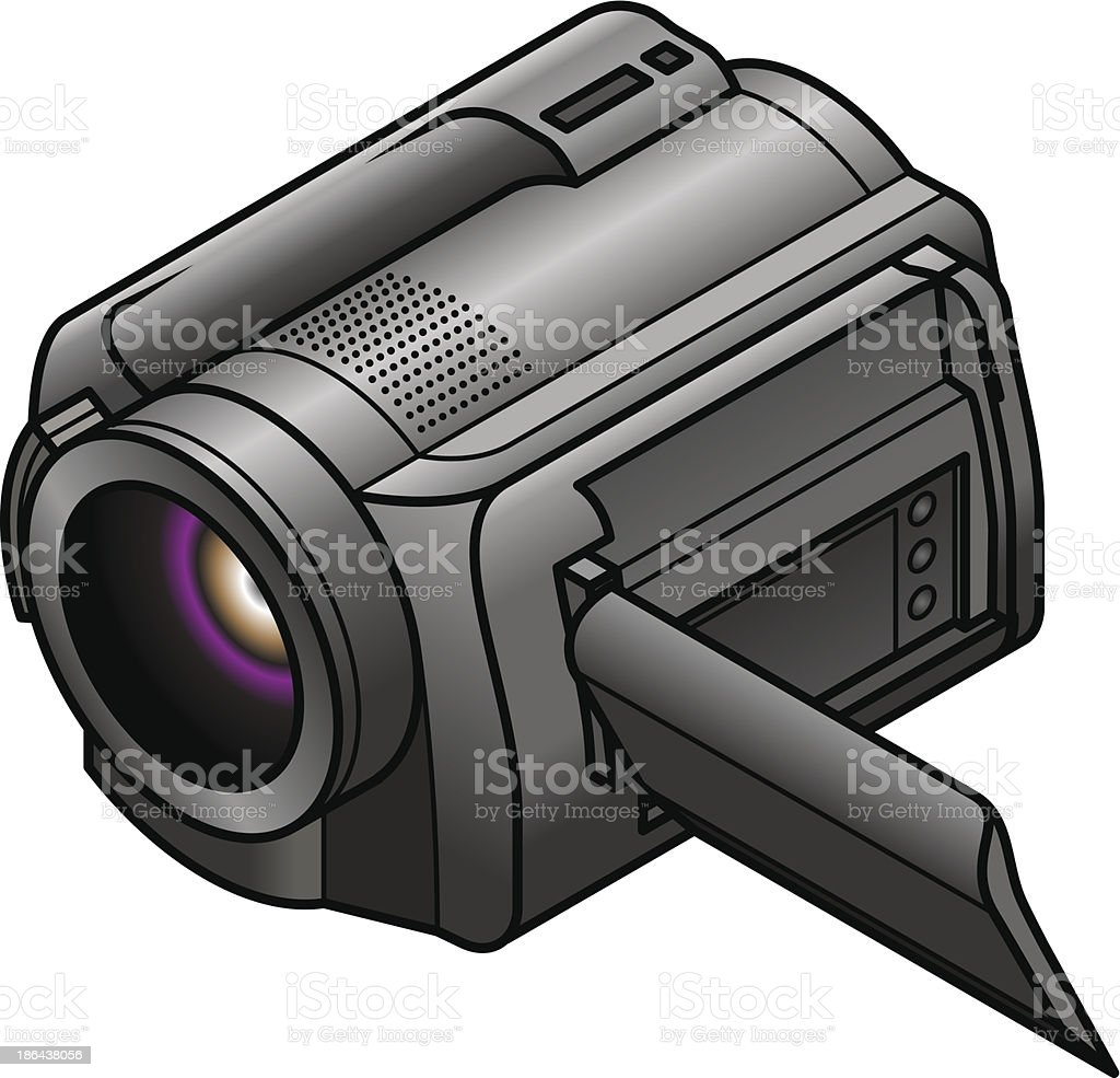 Video Camera royalty-free stock vector art